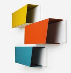 Gift: Transit mailboxes (designed by Stephen Hugo-Seinader) come in Dundas Yellow, Glencairn Orange, Bathurst Blue, and other TTC colours. Manufacturer: Centrifuge (centrifuge.ca)
