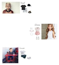 """""""Kiriel,Amira,Emmett: Day at the Amusement Park"""" by kalaleia ❤ liked on Polyvore featuring Billybandit, Vans, Converse, Anita Ko, Bling Jewelry and NIKE"""