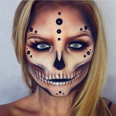 This skull makeup look by @maisyreisermakeup is incredible So much talent and it looks genuinely haunting Anyone else loving that it's October?! . Make sure you use #abeautyedit in your posts to notify us of new beauty launches