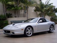 2003 Ferrari 575 Maranello Coupe 2.  Same model Will Smith drove in Bad Boys 2.