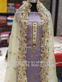 Punjabi Dress, Punjabi Suits, Salwar Suits, Indian Suits, Indian Wear, Beautiful Suit, Beautiful Dresses, Embroidery Suits Design, Embroidery Designs