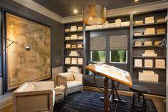 Jerome Village Lot 125   Transitional   Home Office   Columbus   Romanelli  U0026 Hughes Custom Home Builders