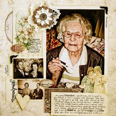 Great-grandma idea page