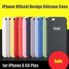 Per il caso di iphone 6 6 s plus originale custodia in silicone elegante disegno gazzetta ultra sottile copertura leggera protezione iphone