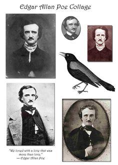 free Halloween printable - Poe