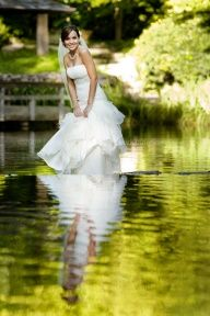 #Dallas Wedding Photographer-trash the dress in water