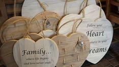 Steigerhouten harten in div. uitvoeringen Follow Your Heart, Antique Decor, Wood Creations, Antiques, Marsha And The Bear, Craft Ideas, Old Fashioned Decor, Antiquities, Antique