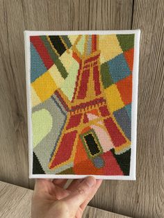 If you are into famous monuments and colorful designs then you will like this abstract cross stitch pattern. The colorful Eiffel Tower I cross stitch … The post Eiffel Tower I appeared first on easy peasy stitches. Famous Monuments, Easy Peasy, Cross Stitch Patterns, Stitches, I Shop, Tower, Birds, Colorful, Embroidery