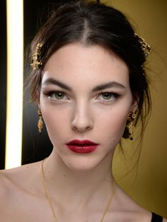 Festliches Make-up bei Dolce & Gabbana
