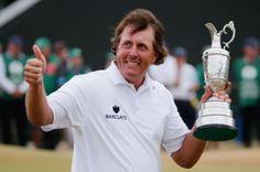 Phil Mickelson Wins 2013 British Open
