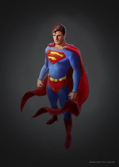 #Superman #Fan #Art. (Superman) By: Santtos-portfolio.  (THE * 5 * STÅR * ÅWARD * OF: * AW YEAH, IT'S MAJOR ÅWESOMENESS!!!™)[THANK U 4 PINNING!!!<·><]<©>ÅÅÅ+(OB4E)