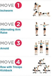 15-Minute Arm Workout  Sculpt your arms and shoulders with this fitness  plan Fitness 79b5af7ca5b4b