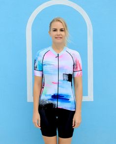Forward Cycling WaterColor Jersey ($130)