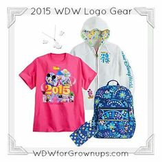 2015 Disney World Logo Gear