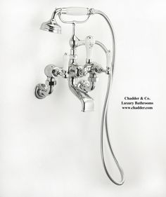Chadder BSM 101 Wall Bath Shower Mixer in Chrome Finish. #luxury #taps #faucets…