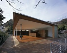 House to Catch the Mountain by Tezuka Architects