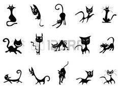 Resultado de imagem para bordado gato