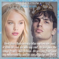 Broken Prince by Erin Watt Lux Series, Book Series, Royals Series, Veronica Roth, The Infernal Devices, Cassandra Clare, The Covenant, Romance Novels, Book Nerd