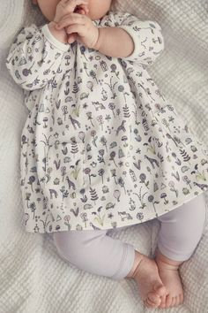 Buy lilac Printed Dress And Leggings Set (0mths-2yrs) from Next USA