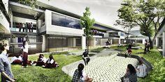 Primer Lugar Concurso para el Diseño de Colegios y un Equipamiento Cultural – Teatro, en Bogotá / Colombia