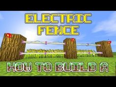 http://minecraftstream.com/minecraft-tutorials/minecraft-how-to-build-an-awesome-electric-fence/ - Minecraft : How to build an awesome Electric Fence welcome to a minecraft build tutorial in which we build a awesome electric fence. this fence can be build on xbox,ps3 and pocket edition hopefully you enjoy this tutorial and I would love to see what designs you all come up with =) leave a like and subscribe for more...