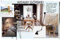 podpowiadamy, jak urządzić zimową posiadłośc, proponujemy połączenie drewnianych elementów wyposażenia wnętrza i metalowe dodatki
