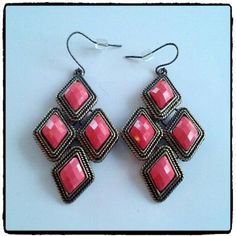 Topshop Drop Earrings. NWOT Boho style. Very cute. Received as a gift snd never worn. Topshop Jewelry Earrings