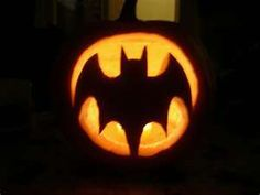 easy pumpkin carving stencils batman - Google Search