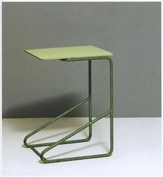 side table for paimio sanatorium by alvar aalto, 1932