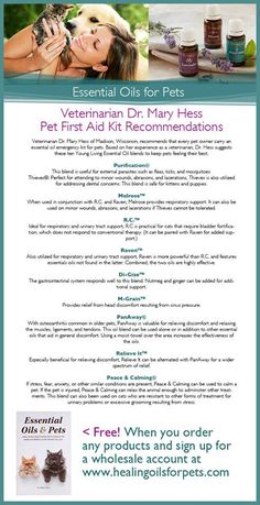 Young living essential oils for pets it's a great thing u own most of these