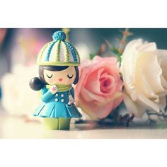 Momiji message doll #dolls #momijidolls #cute #momijihq Momiji Doll, Kokeshi Dolls, Clothespin Dolls, Doll Painting, Vinyl Toys, Designer Toys, Wooden Dolls, Pretty Dolls, 3d Character