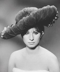 Barbra Streisand. A screen test for Funny Girl