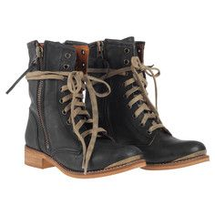 Heroic Moto Boot Black, $129, now featured on Fab.