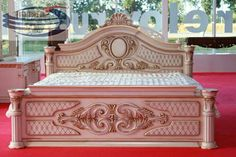The Latest Cheap Bridal Bed, Cheap Bed Ranjang Tidur Murah Pengantin Terbaru, Model Tempat Tidur Murah Furniture Jepara… The Latest Cheap Bridal Bed Beds, Cheap Jepara Furniture Bed Models, Minimalist Carved Bedroom Sets Semi Slanted Prices - Discount Bedroom Furniture, Bedroom Furniture Sets, Bed Furniture, Home Decor Furniture, Bedroom Sets, Furniture Design, Furniture Online, Furniture Layout, Furniture Makeover