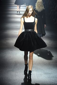 Lanvin RTW Fall 2012 - great dress but the belt and booties take it to another level!!!