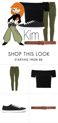 """Kim Possible~ DisneyBound"" by basic-disney ❤ liked on Polyvore featuring Mother, Alice + Olivia, Forever 21 and Dorothy Perkins"