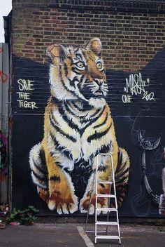 Street Art in Brick Lane, London