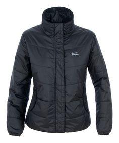 Black Insulated Puffer Jacket by Trespass #zulily #zulilyfinds
