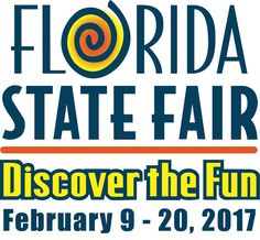 Take time to enjoy the Florida State Fair...where fun is discovered!! February 9th-20th in Tampa.