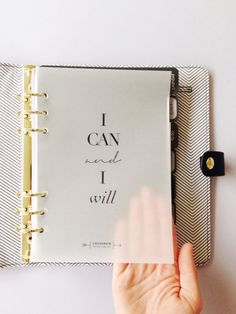 Minimal Planner Translucent Quote Pages or Dashboards | Planner ideas by Crossbow Printables