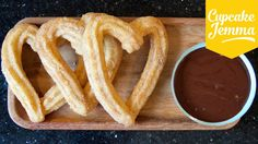 Well, I accidentally made churros that are vegan, though I didn't make a vegan version of the chocolate dip. Soz, vegans! If YOU have a vegan alternative I'd...