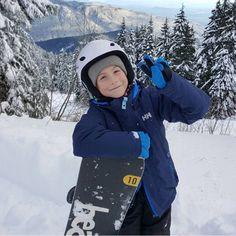 Jacob Tremblay im Schnee