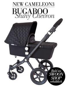 BUGABOO CHEVRON BALACK - Bugaboo präsentiert die neue Cameleon3 Special Edition in der Farbe Chevron Black...
