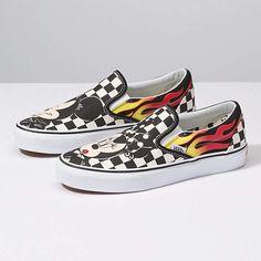 9d87107b5412 Disney x Vans Slip-On Vans Classic Slip On
