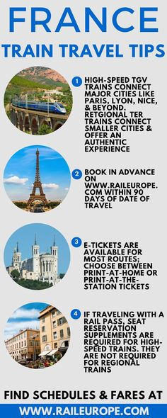cool Ever dreamed of traveling through #France by train? Here are a few tips straight...