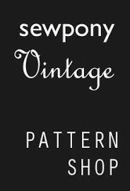 sewponyVintage. Vintage style patterns for modern children.