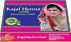 100% Organic Kajal Brown Henna Cone Body Art Mahendi Ink CHOOSE QTY USA SELLER