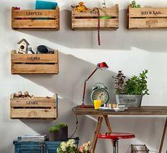 HOME AND GARDEN: 60 idées pour recycler des palettes