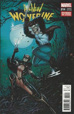 Marvel All New Wolverine comic issue 14 Limited variant       .