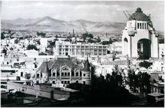 Panoramica de la Ciudad de México. Manuel Ramos.